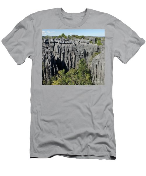 Tsingy De Bemaraha Madagascar 1 Men's T-Shirt (Slim Fit) by Rudi Prott