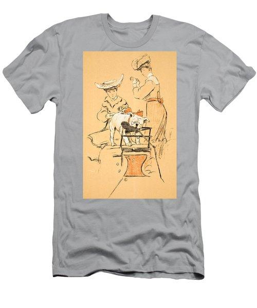 Tug Of War Men's T-Shirt (Athletic Fit)