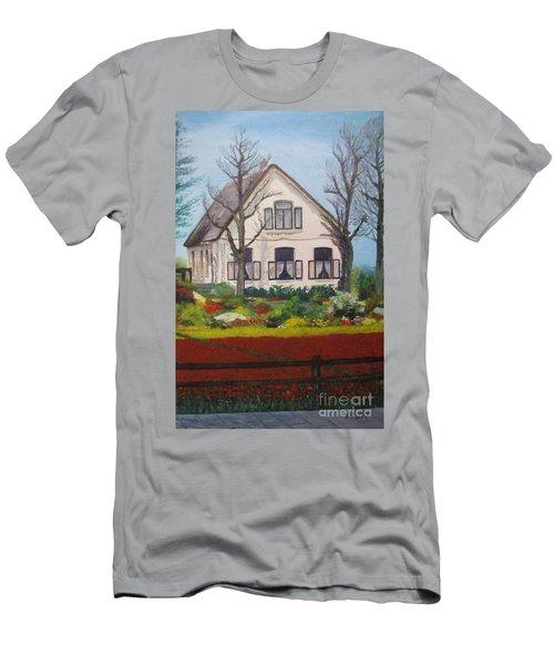Tulip Cottage Men's T-Shirt (Athletic Fit)