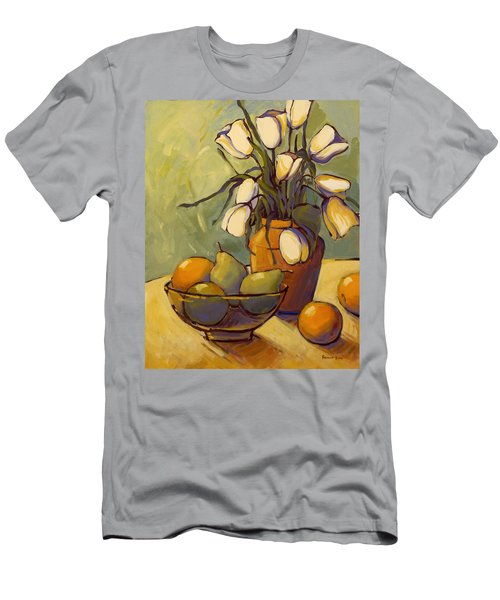 Tulips 2 Men's T-Shirt (Athletic Fit)