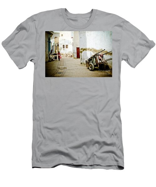 Men's T-Shirt (Athletic Fit) featuring the photograph Tunisian Girl by John Wadleigh