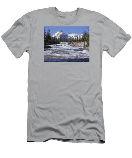 6m6539-tuolumne River  Men's T-Shirt (Athletic Fit)