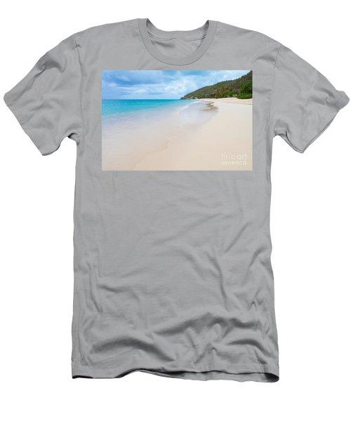 Turner Beach Antigua Men's T-Shirt (Athletic Fit)