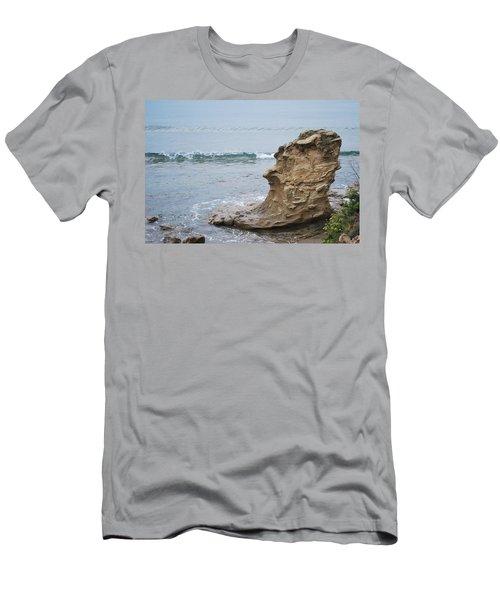 Turquoise Sea Men's T-Shirt (Athletic Fit)