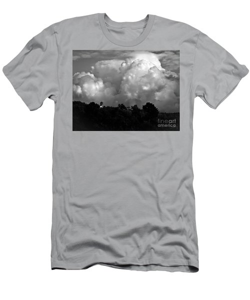 Tuscan Storm Rising From The Valley Men's T-Shirt (Athletic Fit)