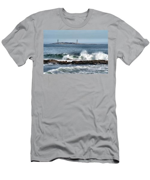 Twin Lights Men's T-Shirt (Athletic Fit)