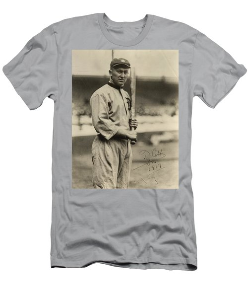 Ty Cobb  Poster Men's T-Shirt (Athletic Fit)