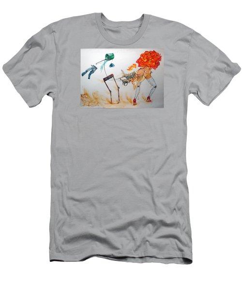 Tyrants Of Desire Men's T-Shirt (Slim Fit) by Lazaro Hurtado