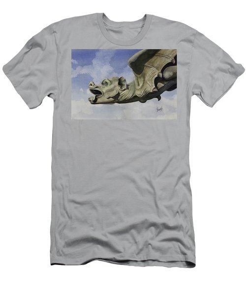 Ulmer Munster Gargoyle Men's T-Shirt (Athletic Fit)