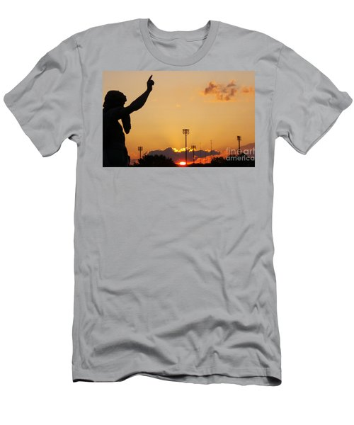 Cemetery Sunset Men's T-Shirt (Athletic Fit)