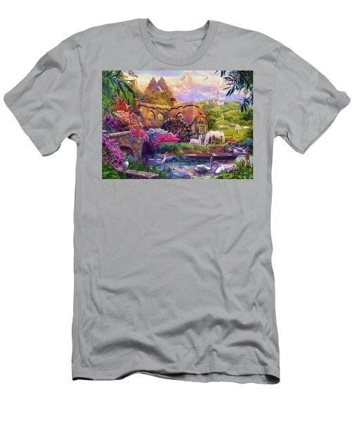 Light Palace Men's T-Shirt (Athletic Fit)