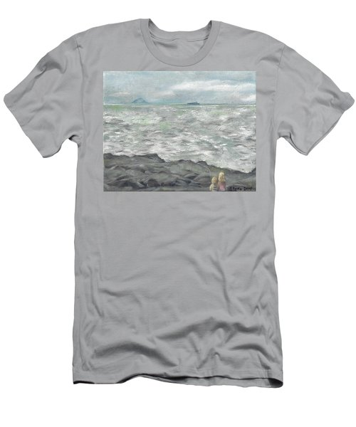 Untitled Seascape Men's T-Shirt (Athletic Fit)
