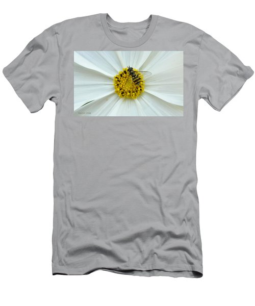 Up Close With The Bee And The Cosmo Men's T-Shirt (Athletic Fit)