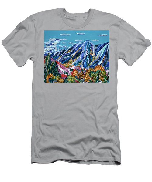 Up To The Mountains Men's T-Shirt (Athletic Fit)