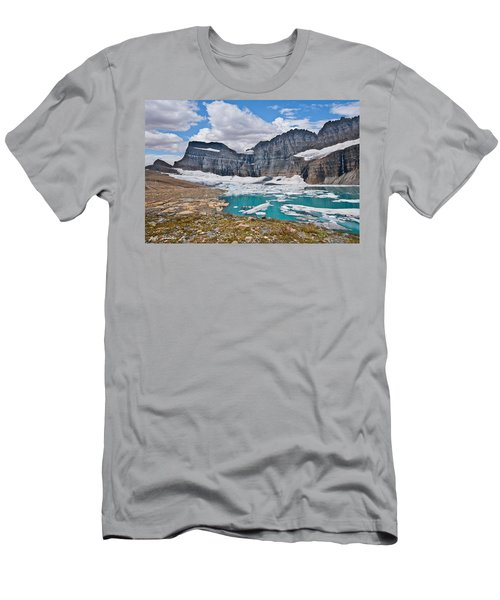 Upper Grinnell Lake And Glacier Men's T-Shirt (Athletic Fit)