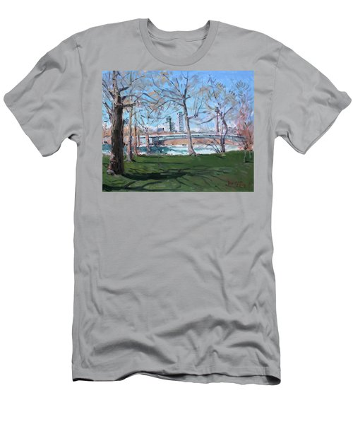 Upper Rapids Of Niagara Falls Ny Men's T-Shirt (Athletic Fit)