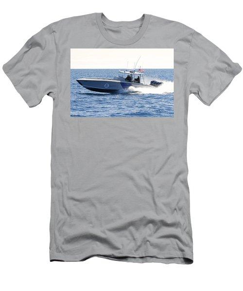 Us Customs At Work Men's T-Shirt (Slim Fit) by Shoal Hollingsworth