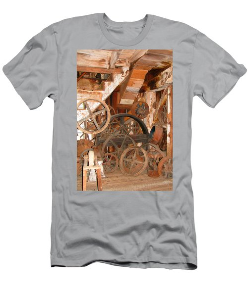 Men's T-Shirt (Slim Fit) featuring the photograph Used Parts As Art  by Brooks Garten Hauschild