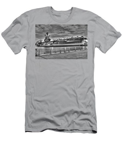 Uss Intrepid Men's T-Shirt (Slim Fit) by Anthony Sacco