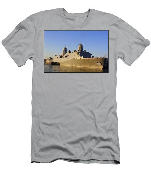 Uss New York - Lpd21 Men's T-Shirt (Athletic Fit)