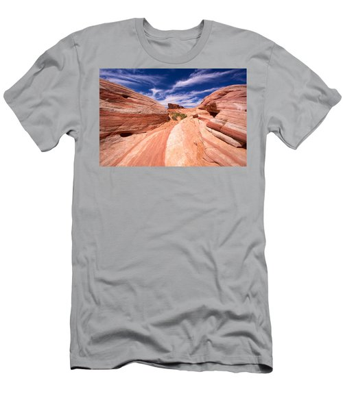 Valley Of Fire 2 Men's T-Shirt (Athletic Fit)