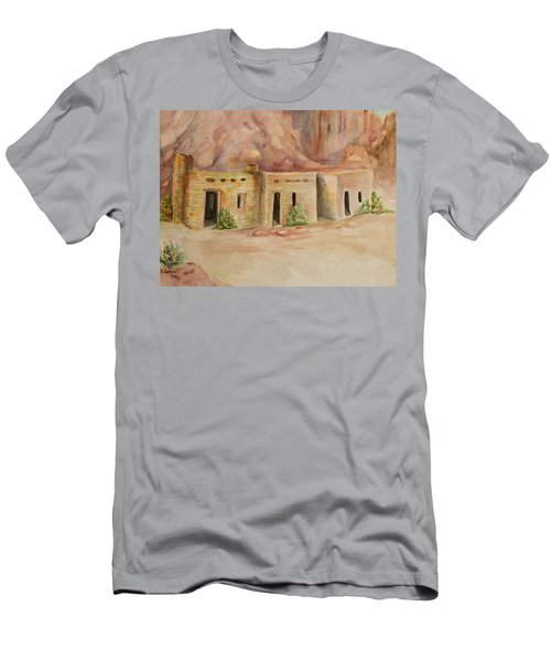 Valley Of Fire Cabins Men's T-Shirt (Athletic Fit)