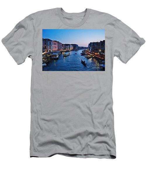 Venezia - Il Gran Canale Men's T-Shirt (Athletic Fit)