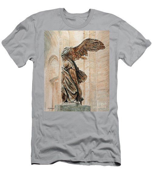 Victory Of Samothrace Men's T-Shirt (Athletic Fit)