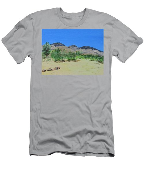 View From Sharon's House - Mojave Men's T-Shirt (Athletic Fit)