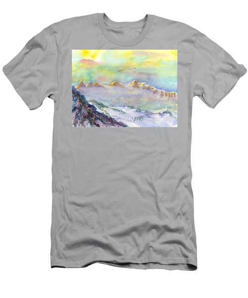 View From Snowbird Men's T-Shirt (Athletic Fit)