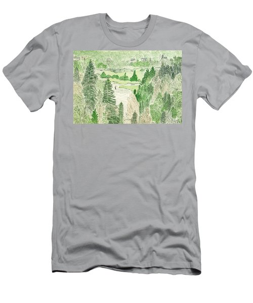 View From The Dam Men's T-Shirt (Athletic Fit)