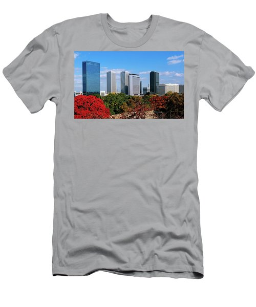 View Of Osaka Business Park In Autumn Men's T-Shirt (Athletic Fit)