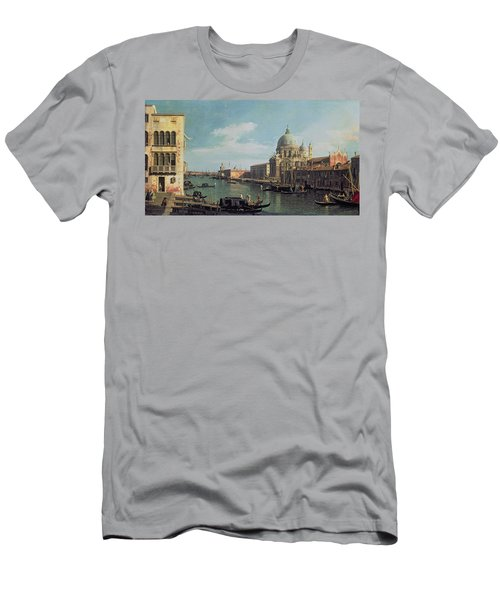 View Of The Grand Canal Santa Maria Men's T-Shirt (Athletic Fit)