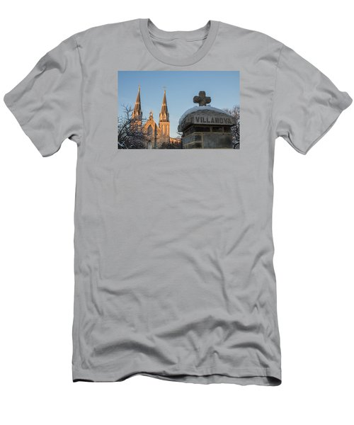 Villanova Wall And Chapel Men's T-Shirt (Slim Fit) by Photographic Arts And Design Studio