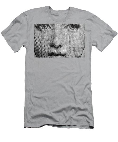 Vintage Face Men's T-Shirt (Athletic Fit)