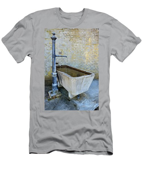 Vintage Fountain Men's T-Shirt (Slim Fit) by Felicia Tica