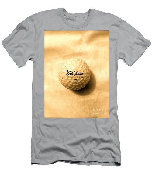 Vintage Golf Ball Men's T-Shirt (Athletic Fit)