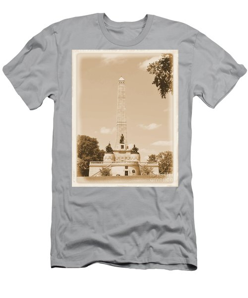 Vintage Lincoln's Tomb Men's T-Shirt (Athletic Fit)