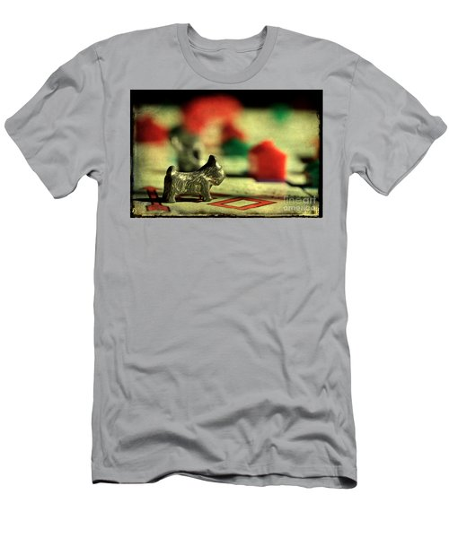Vintage Monopoly Men's T-Shirt (Slim Fit) by Michael Eingle