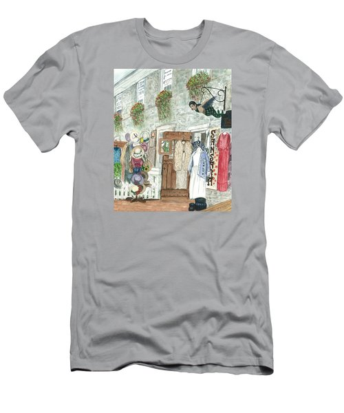 Vintage New Hope Men's T-Shirt (Slim Fit) by Vickie G Buccini
