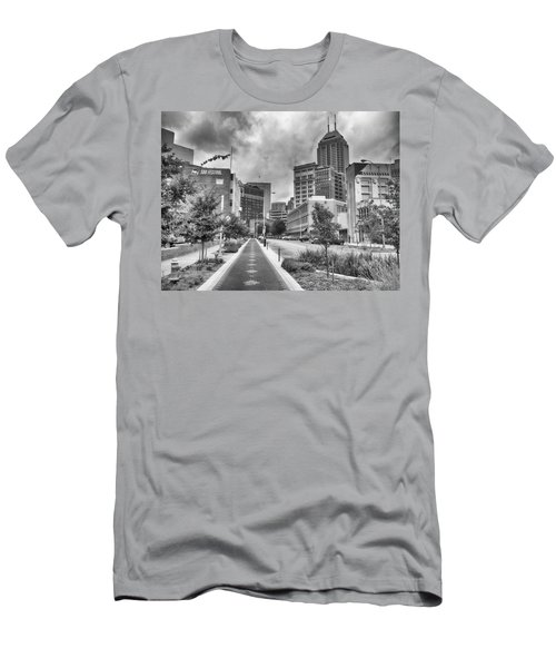 Men's T-Shirt (Athletic Fit) featuring the photograph Virginia Ave. by Howard Salmon