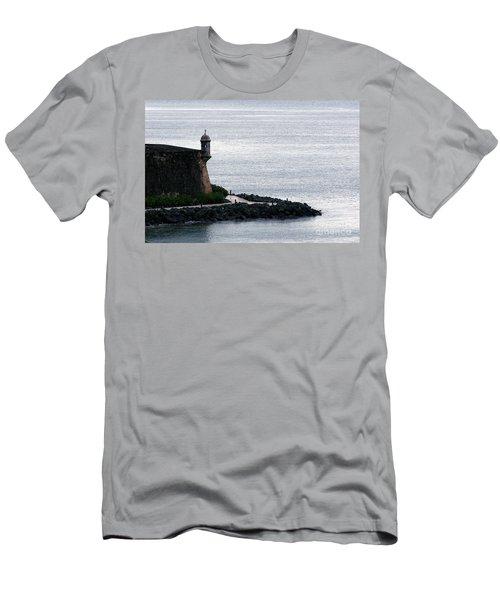 Vista De La Garita Men's T-Shirt (Athletic Fit)