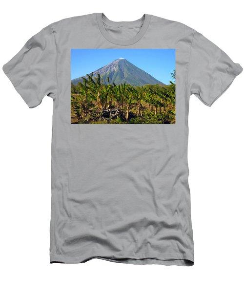 Volcan Concepcion Nicaragua Men's T-Shirt (Athletic Fit)