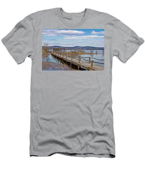 Vransko Lake Nature Park Bird Observatory Men's T-Shirt (Athletic Fit)