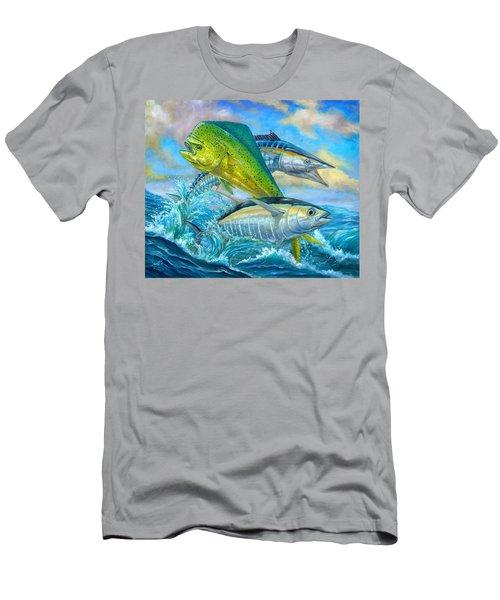 Wahoo Mahi Mahi And Tuna Men's T-Shirt (Athletic Fit)