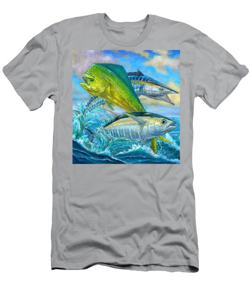 Wahoo Mahi Mahi And Tuna Men's T-Shirt (Athletic Fit)