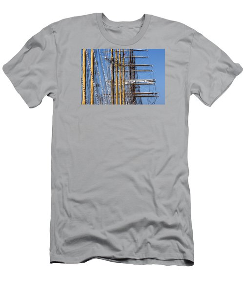 Men's T-Shirt (Slim Fit) featuring the photograph Waiting For Good Winds by Edgar Laureano