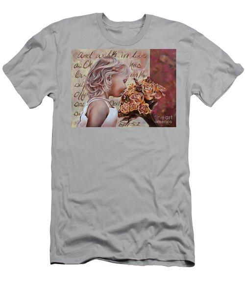 Walk In Love Men's T-Shirt (Athletic Fit)