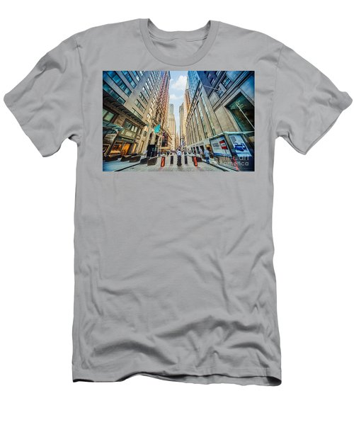 Wall Street Men's T-Shirt (Athletic Fit)