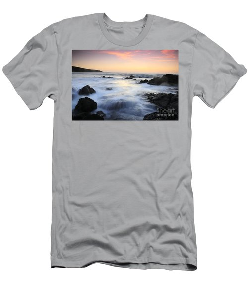 Water And The Sunset Men's T-Shirt (Athletic Fit)